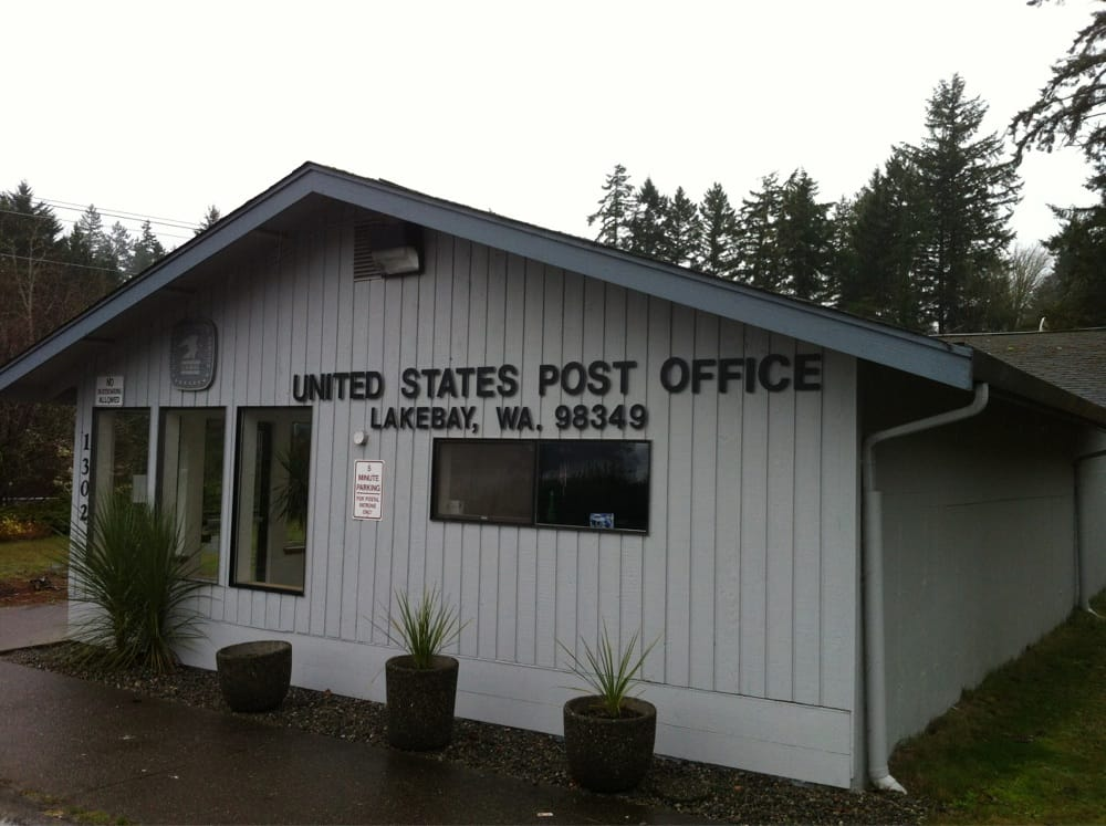US Post Office: 1302 Key Peninsula Hwy N, Lakebay, WA