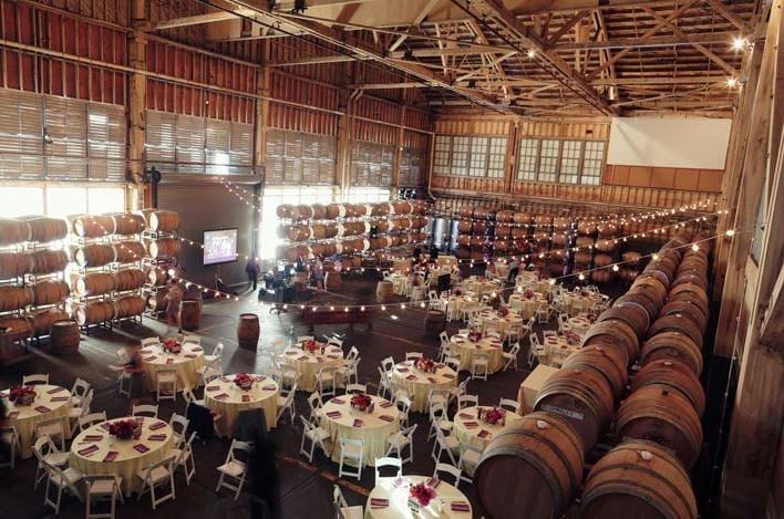 Winery sf treasure island wedding