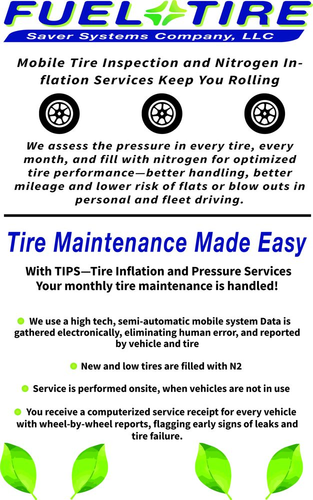 Fuel & Tire Saver Mobile Service: 45915 Maries Rd, Dulles, VA