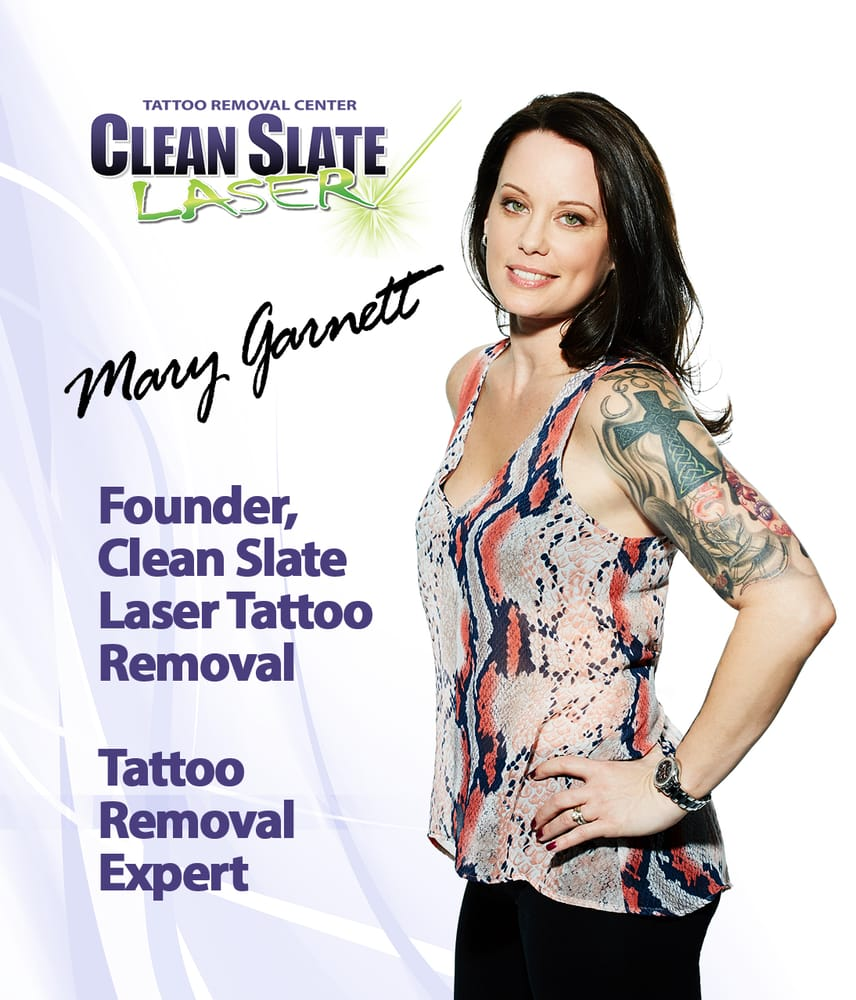 Clean Slate Laser Tattoo Removal - White Plains