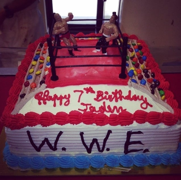 Wrestling Birthday Cake Yelp