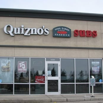 Quiznos, Edmonton: See 3 unbiased reviews of Quiznos, rated of 5 on TripAdvisor and ranked #1, of 2, restaurants in Edmonton. Edmonton. Edmonton Tourism Hours. LOCATION. Stony Plain Rd NW, Edmonton, Alberta T5S 2X6, Canada. All Details. Improve This Listing/53 TripAdvisor reviews.