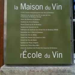 La maison du vin wine bars 1 cours du 30 juillet h tel de ville quinco - La maison du dressing ...