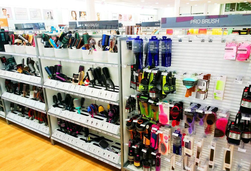 Ulta Newtown Square - Hairbrushes (So many paddle brushes, YAY! But