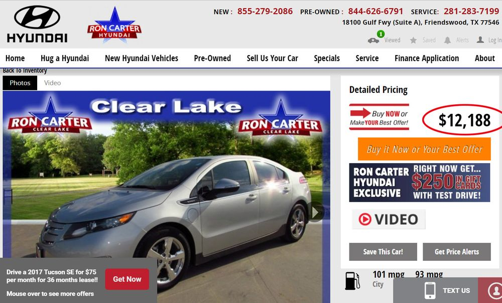 Ron Carter Hyundai   55 Photos U0026 140 Reviews   Auto Repair   18100 Gulf  Frwy, Clear Lake, Friendswood, TX   Phone Number   Yelp