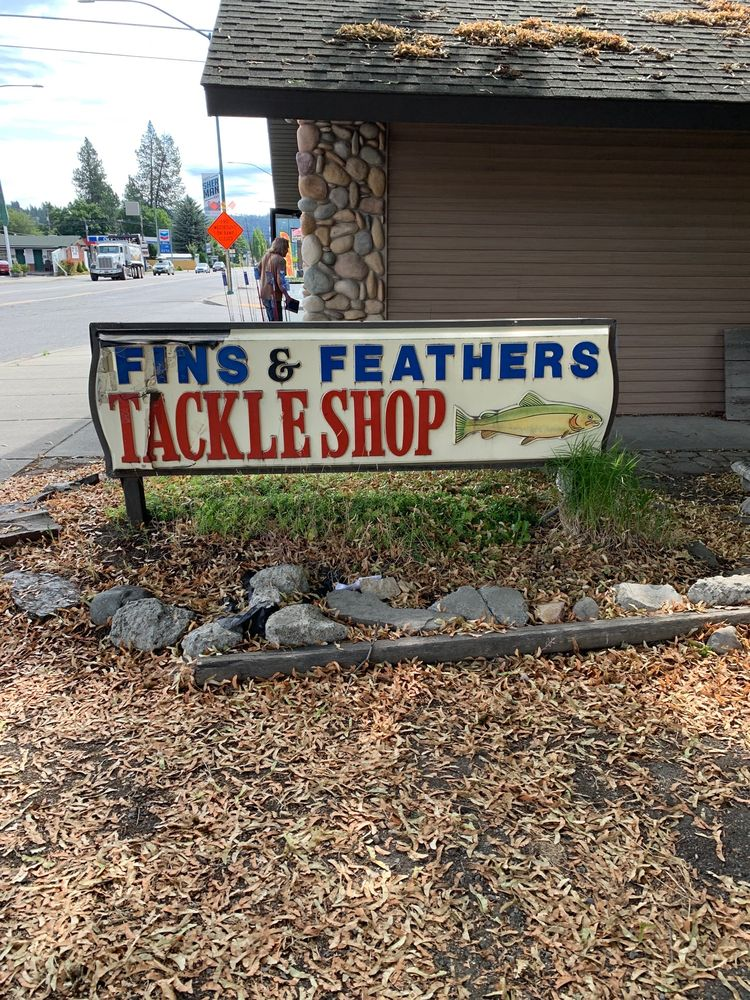 Fins & Feathers Tackle Shop & Guide Service: 1816 E Sherman Ave, Coeur D Alene, ID