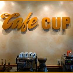 Huntington Beach Cafe Cup