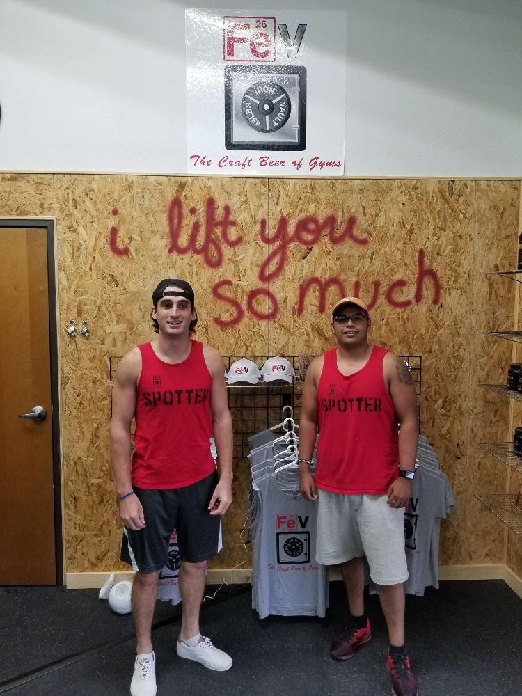 FeV--Iron Vault Gym