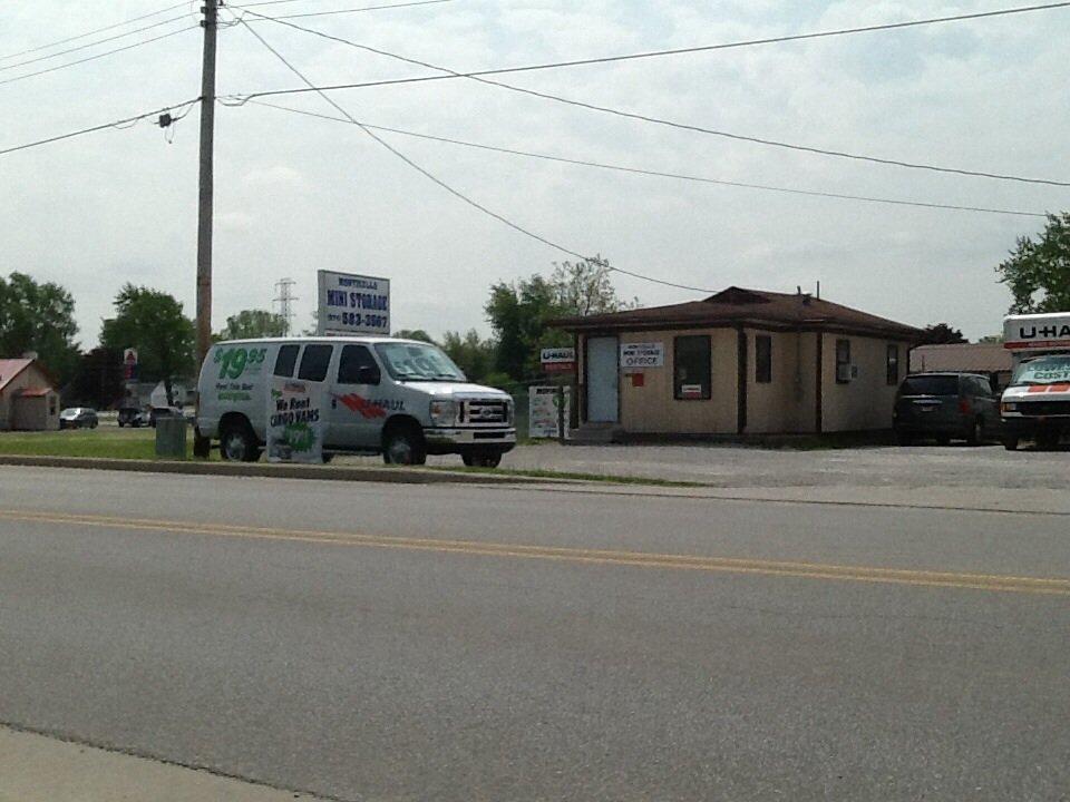 U-Haul Neighborhood Dealer: 115 W Rickey Rd, Monticello, IN