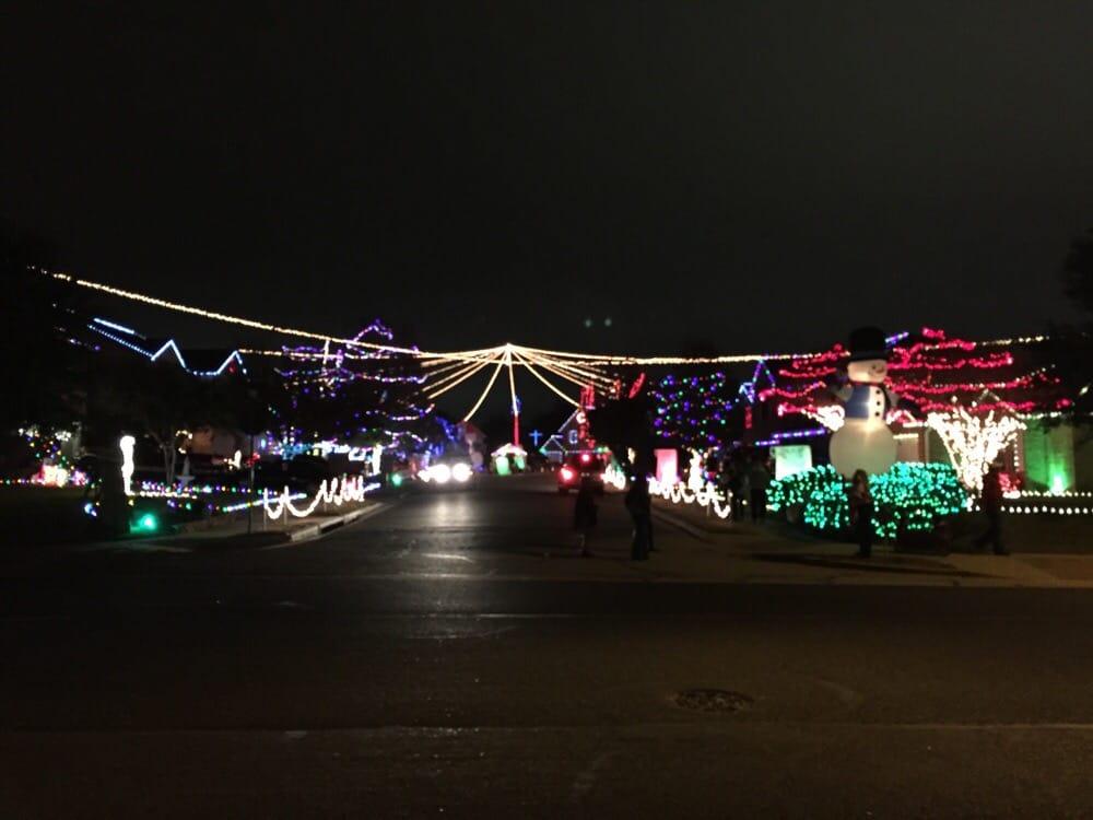 Christmas Lights At Chinati Court 36 Photos Festivals