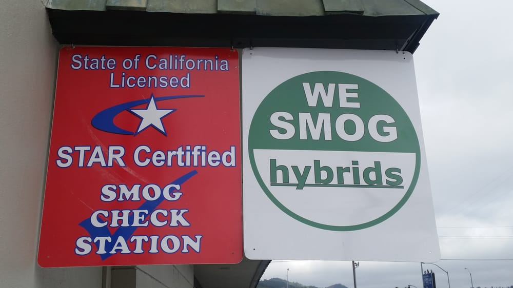 Photo Of Lucky Drive Smog Larkspur Ca United States Star Certified