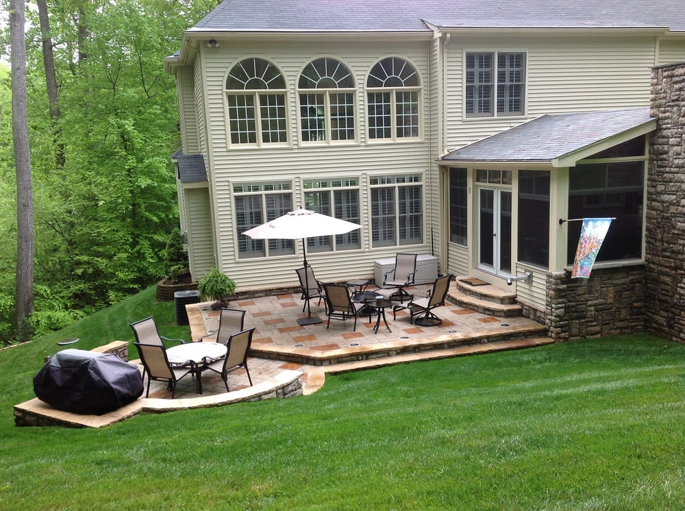 Photo Of Ultimate Concrete   Chantilly, VA, United States. Stamped Concrete Patio  With
