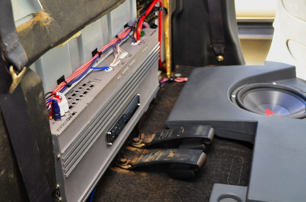 amp install in a 2005 dodge ram 1500 yelp audio rack wiring photo of quality car audio mobile service sacramento, ca, united states amp