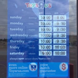 P O Of Toys R Us Maplewood Mn United States Store Hours