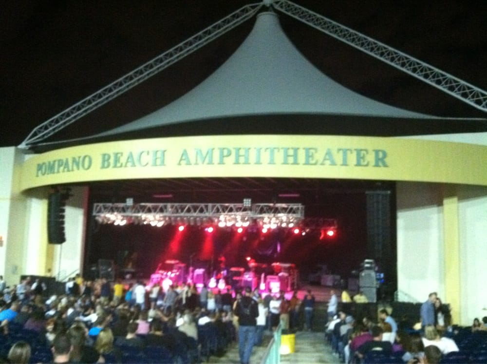 Pompano Beach Amphitheater Map The Best Beaches In World