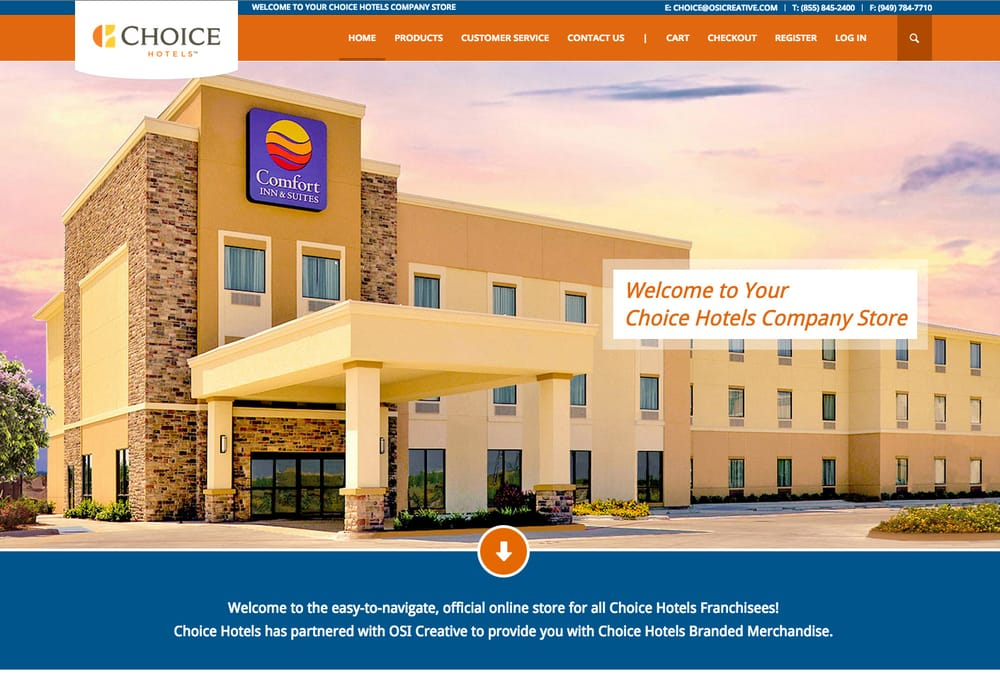 New E Commerce Website For Choice Hotels Yelp