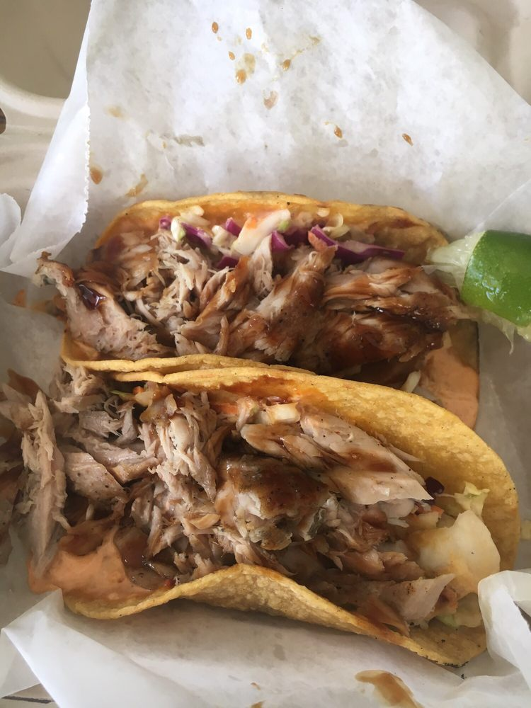 The tacos are full of meat yelp for South maui fish company