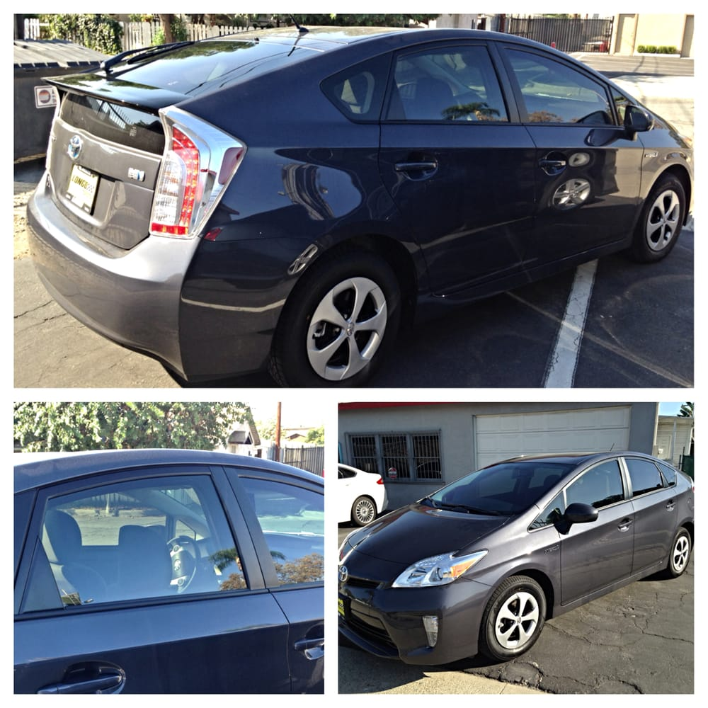 2015 toyota prius tinted with 3m crystalline 40 on all. Black Bedroom Furniture Sets. Home Design Ideas