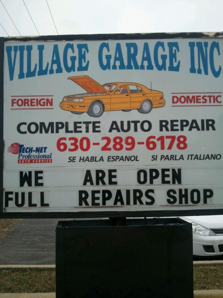 village garage indhent et tilbud bilreparation 7450