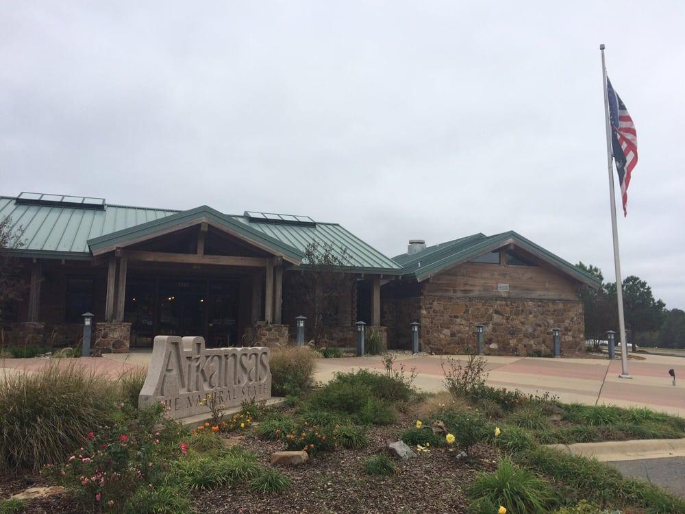 Arkansas Welcome Center: 3315 Junction City Hwy, El Dorado, AR