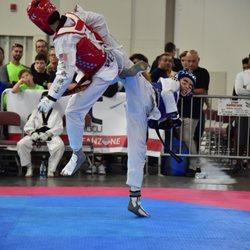 Photo of Sparks Taekwondo - Murrieta, CA, United States. Tristan wins SILVER at