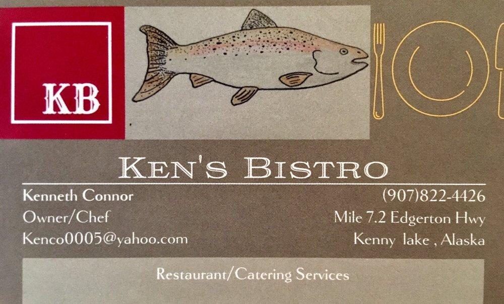 Ken's Bistro: Mile 72 Edgerton Hwy, Copper Center, AK