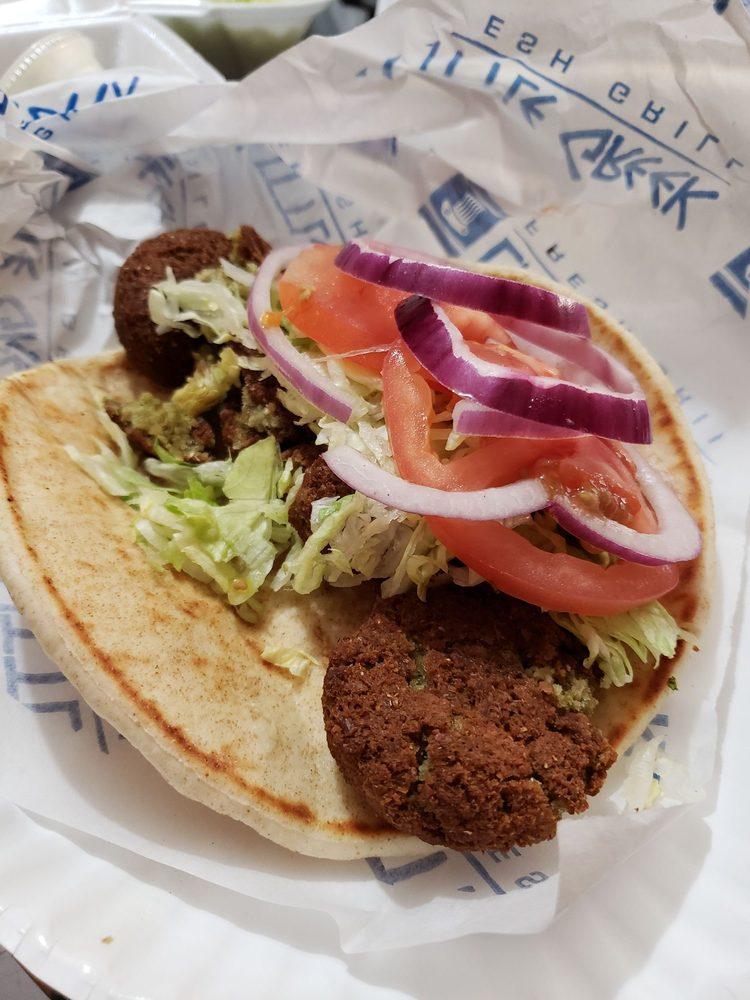 Food from Little Greek Fresh Grill