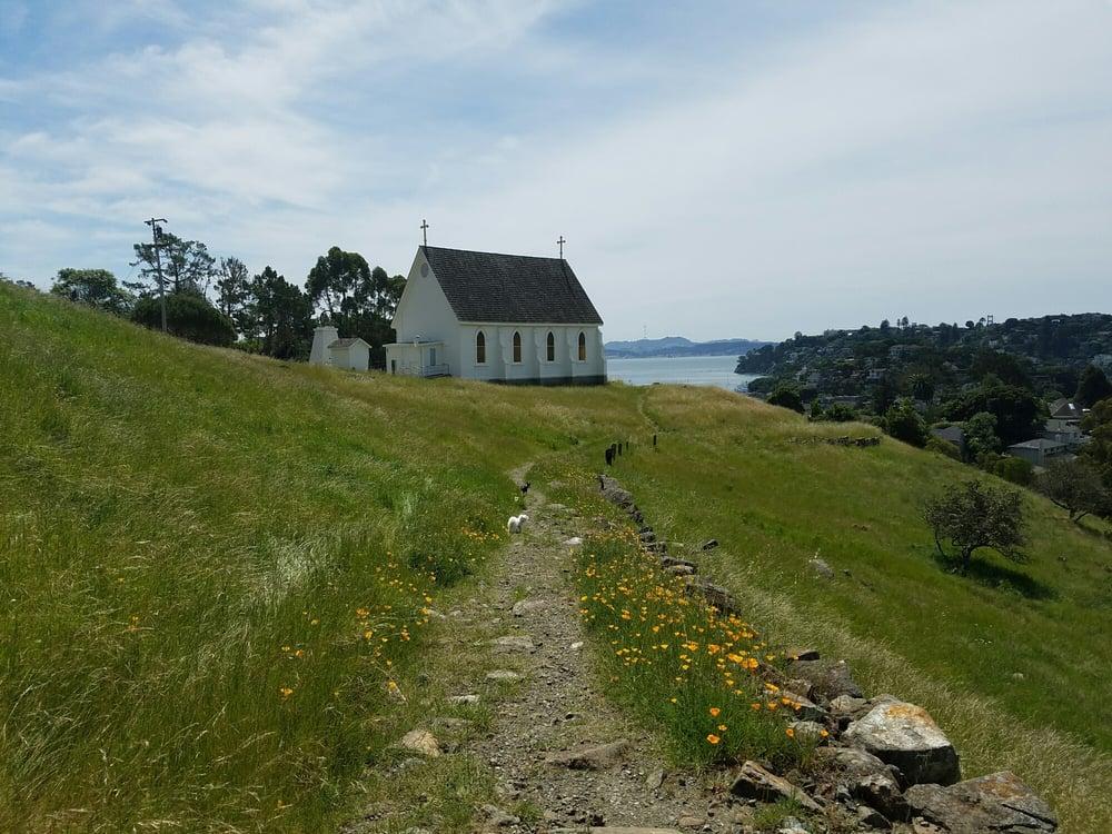 Old St. Hilary's Open Space Nature Preserve: 2000 Vistazo St W, Belvedere Tiburon, CA