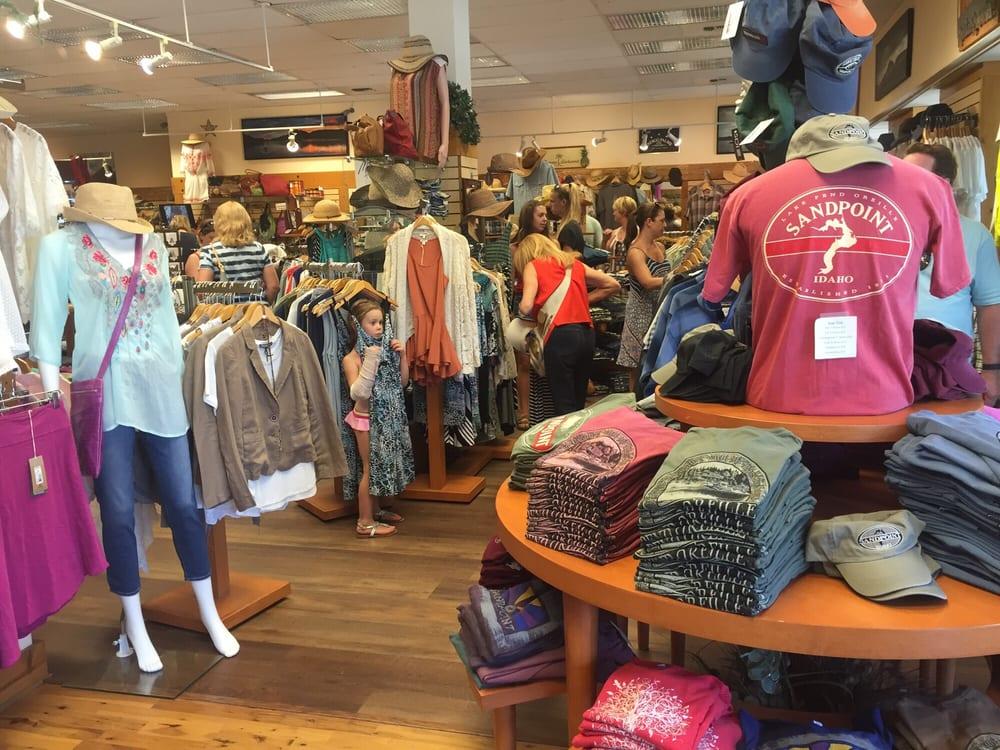 Finan McDonald Clothing Company: 301 N 1st Ave, Sandpoint, ID