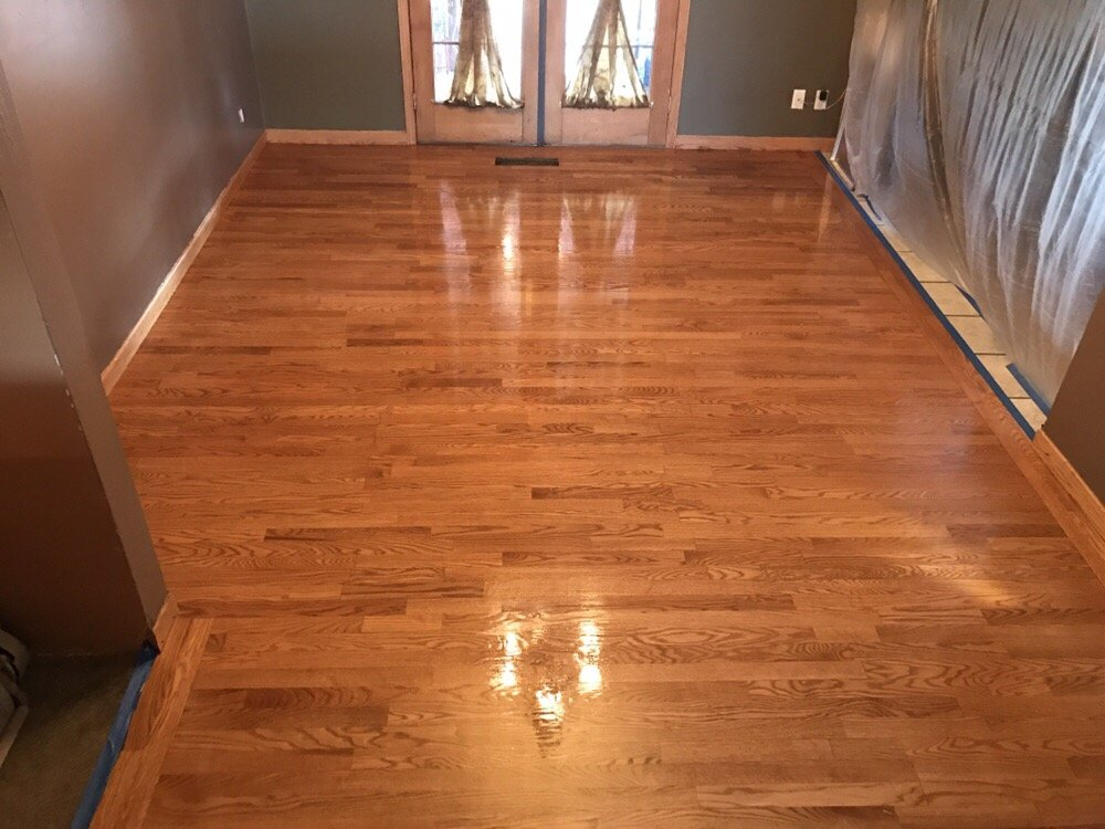 this is a 2 1 4 red oak floor in kennewick that we
