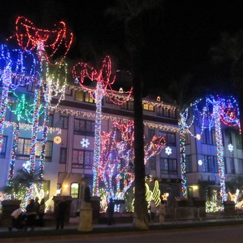 photo of mission inn hotel spa festival of lights riverside ca