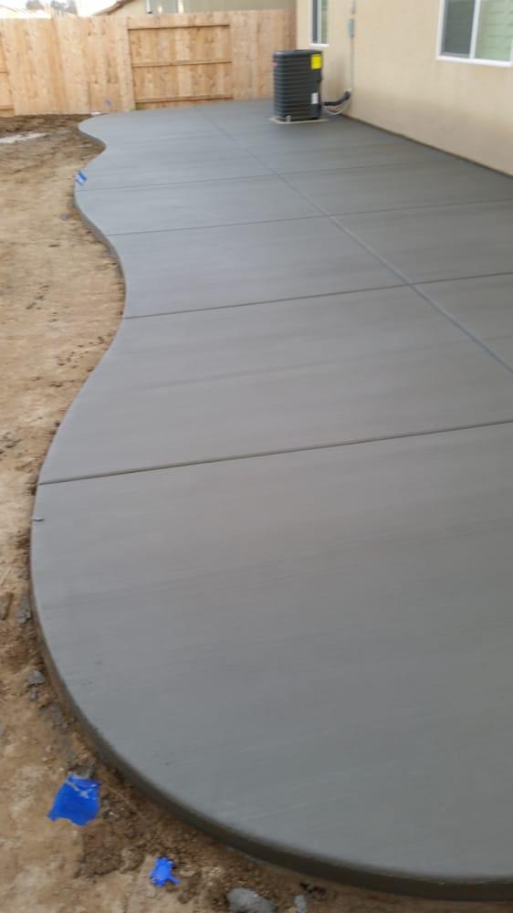 Broom Finish Concrete Patio Yelp