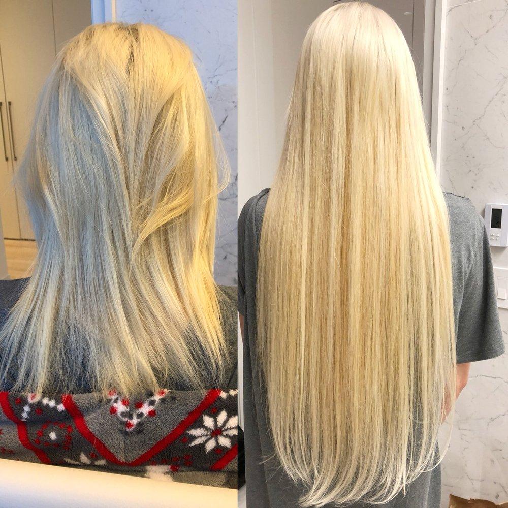 Russian Hair Extensions 26 Inch Custom Made In Micro Rings By Shlomi