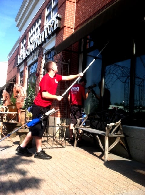 Fish window cleaning window cleaners 215 salem st for Fish window cleaning