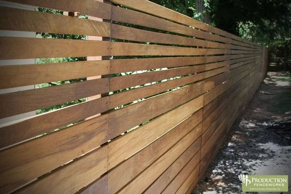 Horizontal Wood Fenceghantapic