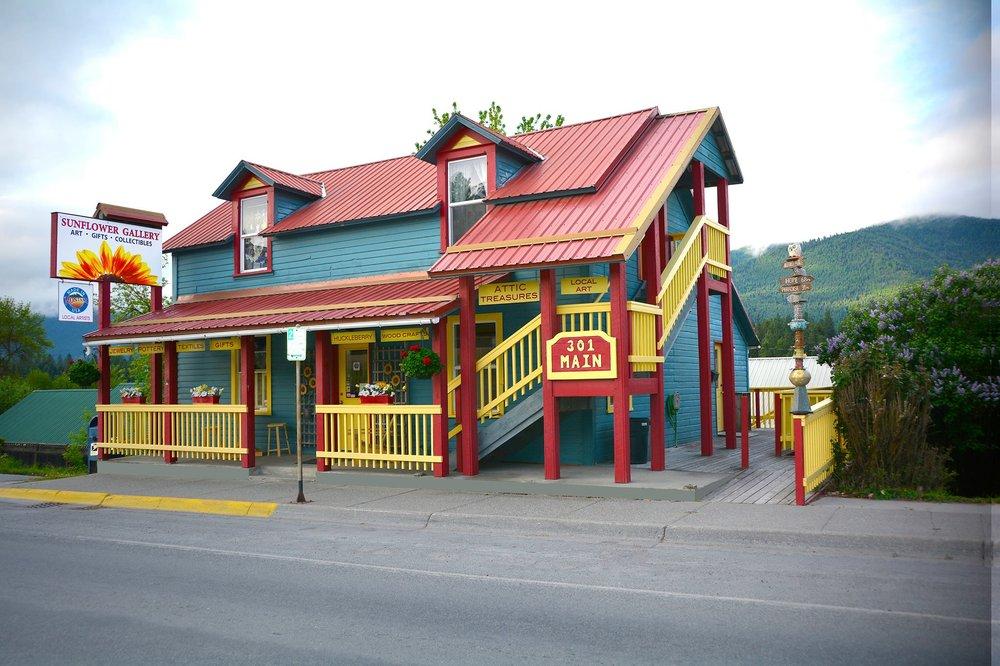 Sunflower Gallery: 301 Main St, Thompson Falls, MT