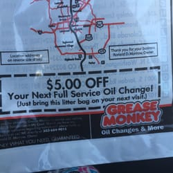 Grease Monkey Auto Repair 2520 8th Ave Garden City Co Phone