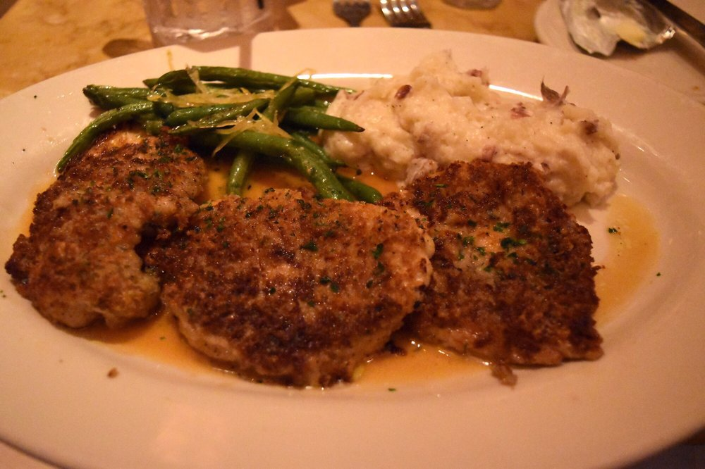 Parmesan Herb Crusted Chicken Cheesecake Factory Review