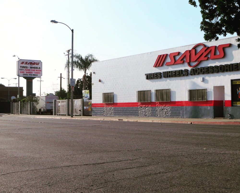 Savas Tire & Wheel: 5080 E Gage Ave, Bell, CA