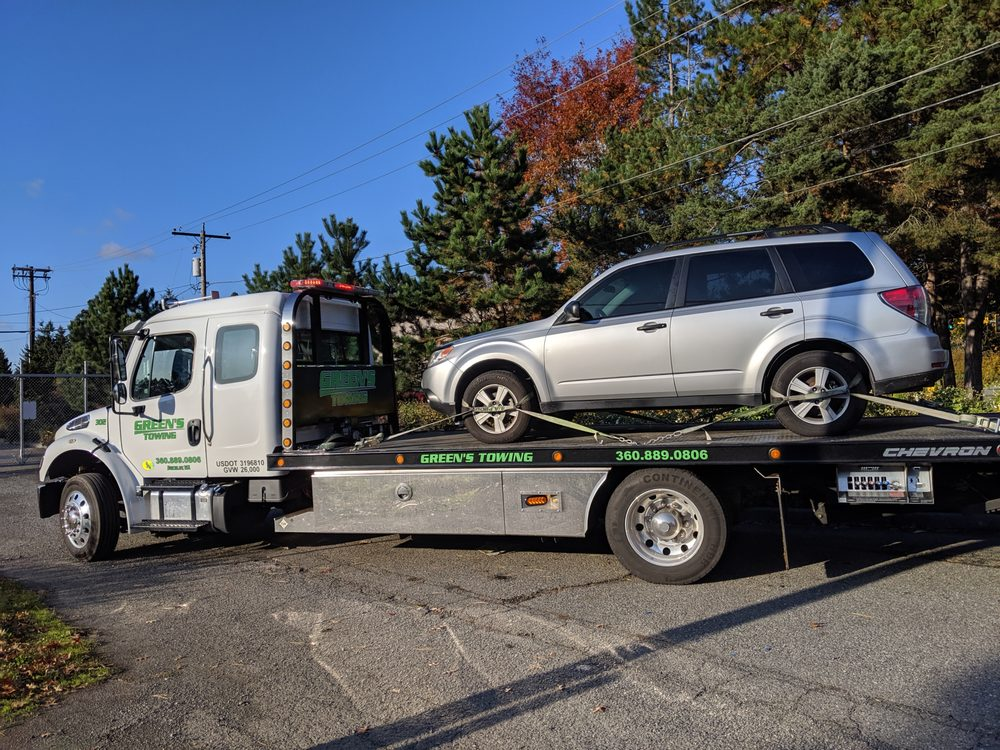 Green's Towing: Buckley, WA