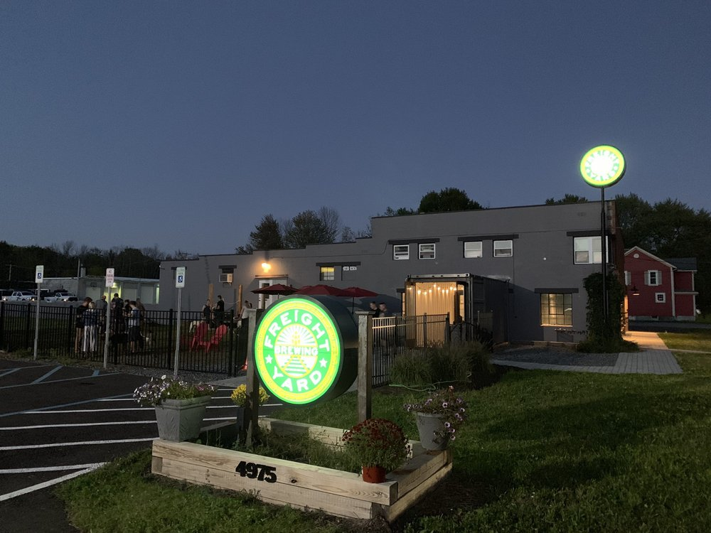 Freight Yard Brewing: 4875 State Route 31, Clay, NY