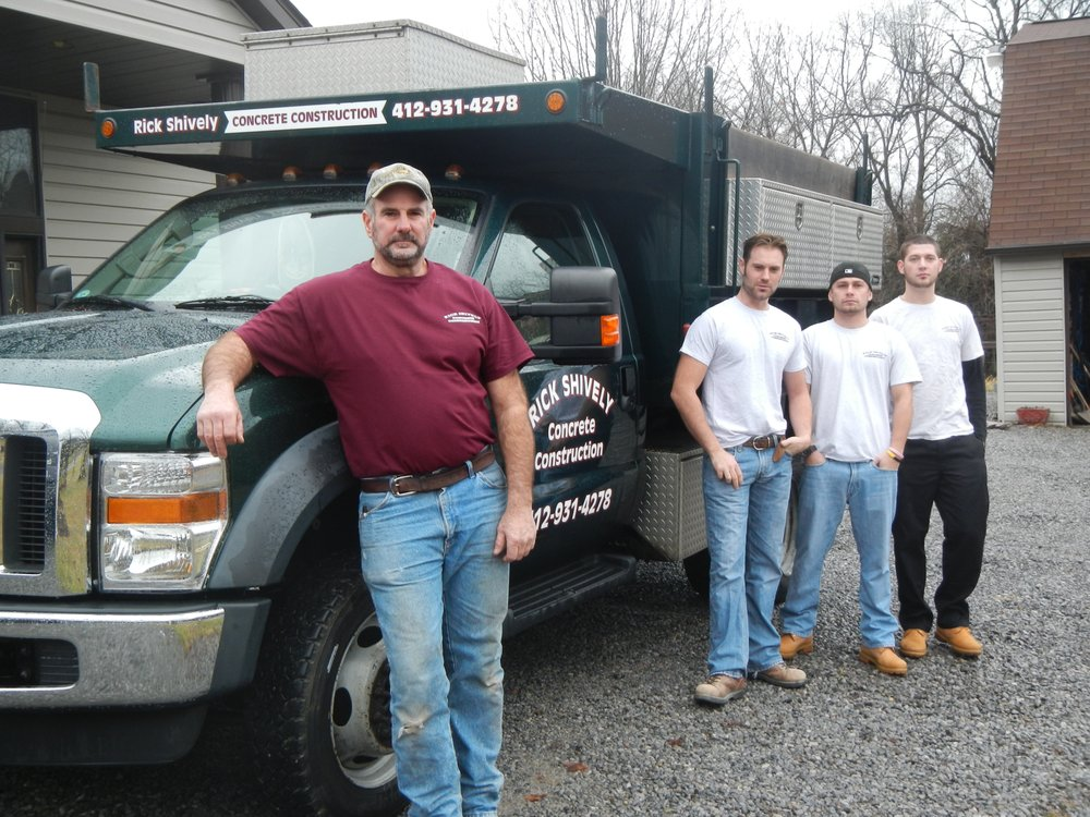 Rick Shively Concrete Construction Services: Pittsburg, PA