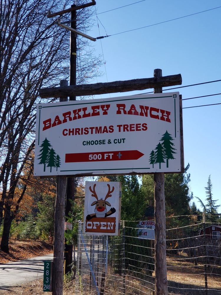 Barkley's Tree Ranch: 2836 Barkley Rd, Camino, CA