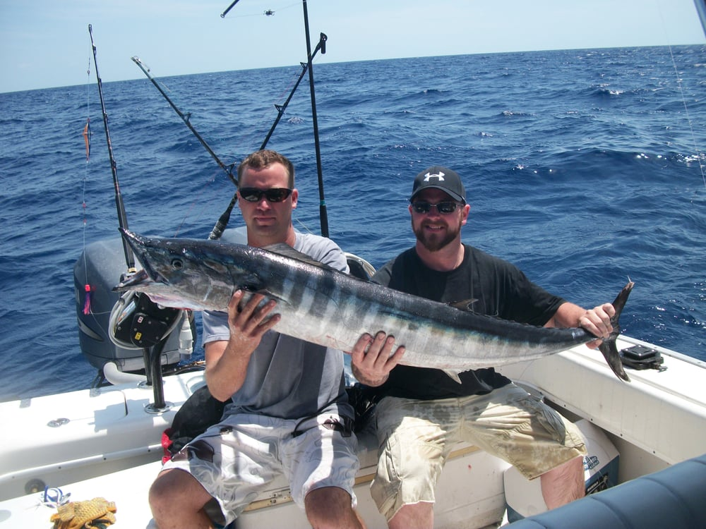 Offshore fishing out of the fort pierce fl marina on for Fishing charters fort pierce fl