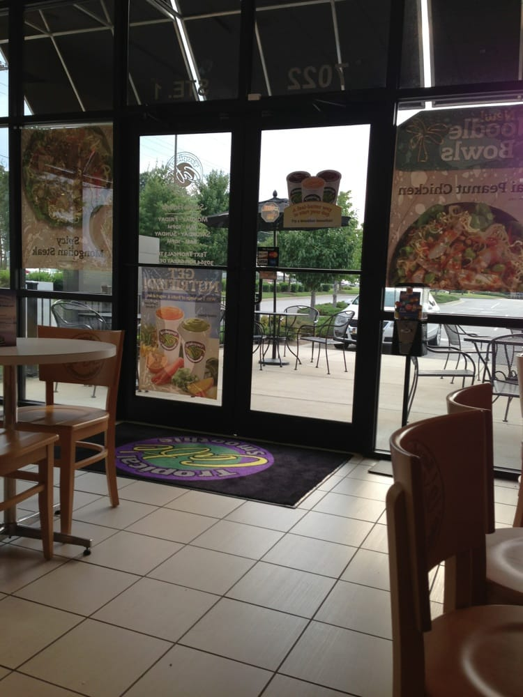 Tropical Smoothie Cafe Menu Springdale Ar