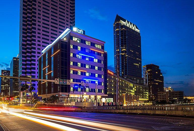 Aloft Tampa Downtown: 100 West Kennedy Boulevard, Tampa, FL