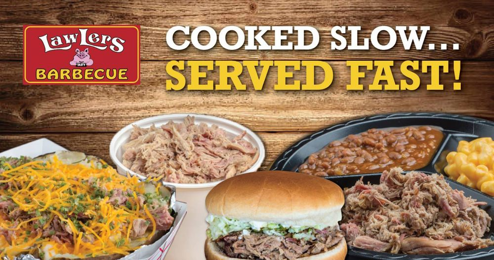 LawLers Barbecue - Athens: 1506 US Hwy 72 E, Athens, AL