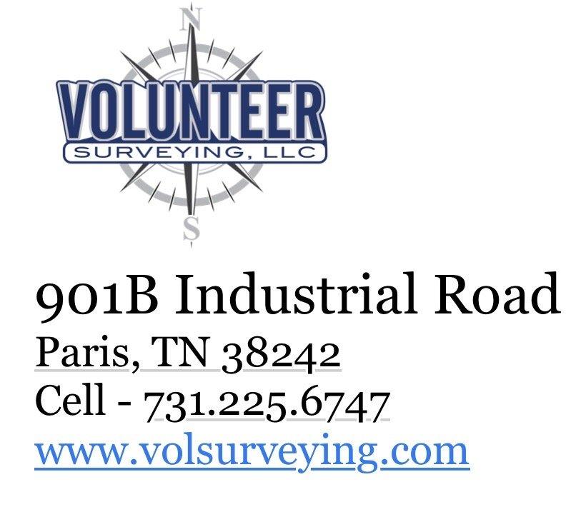 Volunteer Surveing: 901B Industrial Rd, Paris, TN
