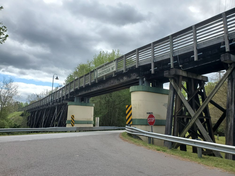 Ten Governors Rail Trail: 400 Main St, Edgefield, SC