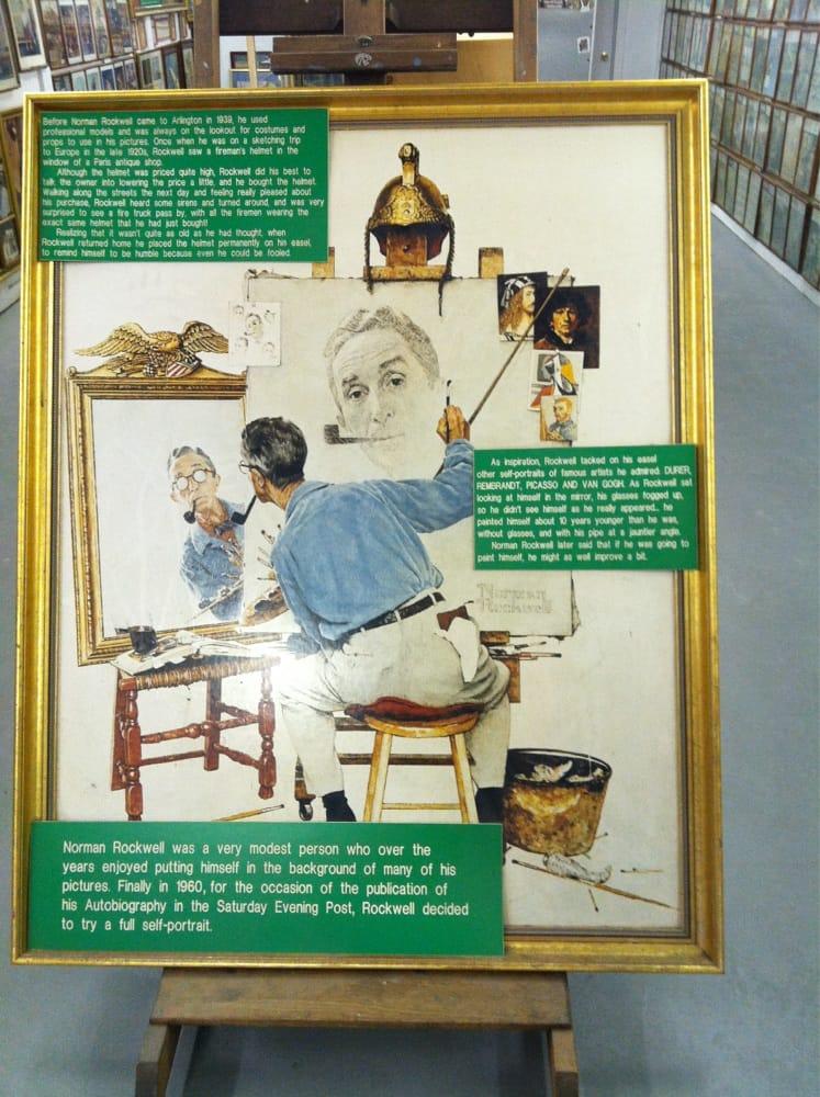Norman Rockwell Exhibition & Gift Shop: Historic Rt 7A And Sugar Shack Ln, Arlington, VT